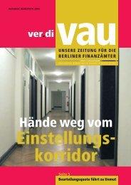 Hände weg vom - Vau-online.de