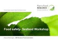 Food safety- Seafood Workshop - Seafoodworkshop.co.nz