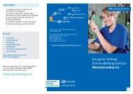 Mechatroniker/in - Versorgungs- und Verkehrsgesellschaft ...