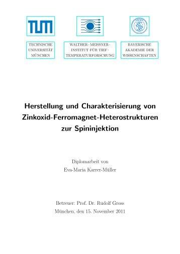 pdf, 2.2 Mb - Walther Meißner Institut - Bayerische Akademie der ...