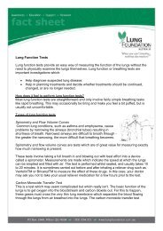 Lung Function Tests - Lung Foundation