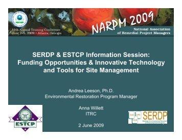 Leeson NARPM SERDP ESTCP Info Session June 2009_hs.pdf