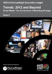 Social Media: The Cornerstone of Marketing Strategy - World Travel ...