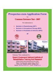 Untitled - National Institute of Rehabilitation Training and Research