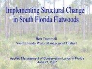 Bert Trammell South Florida Water Management District
