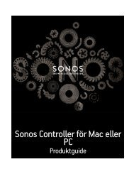 Sonos-favoriter - Almando