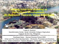 Guanzon_Linking Land Use Planning to Agricultural Development ...