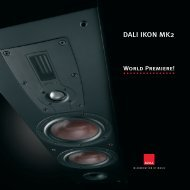 DALI IKON MK2 - MW-AUDIO