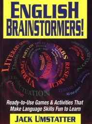 English Brainstormers - Ready-to-Use Games and Activities that ...