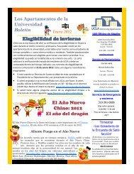 01-2012 Spanish 01-2012 UAS UV Newsletter.pub - Housing - UCLA