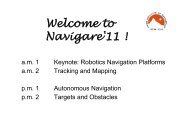 Welcome to Navigare'11 ! - Swiss Institute Of Navigation :: ION-CH