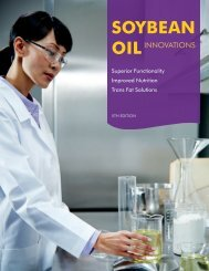 Guide to Soybean Oil Innovations - SoyConnection.com