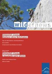 Wilder News - Mountain Wilderness