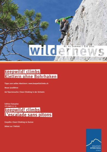 Wilder News - Mountain Wilderness