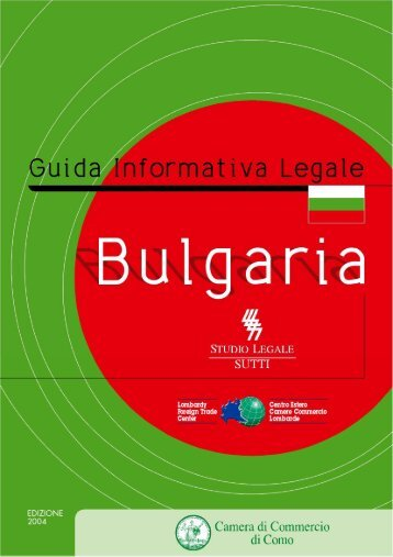 Bulgaria - Camera di Commercio