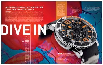 Watch Journal Dive Watches 2010 - Keith Strandberg