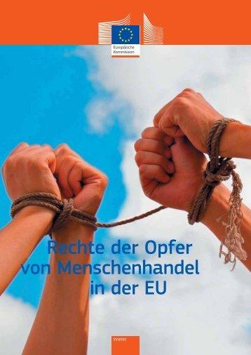 Rechte der Opfer von Menschenhandel in der EU - KOK