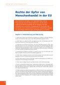 Rechte der Opfer von Menschenhandel in der EU - KOK - Seite 6