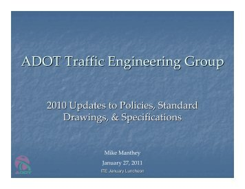 ADOT Traffic Engineering Group - azite
