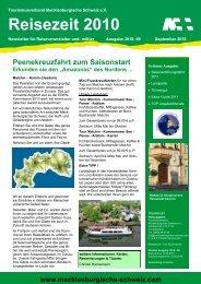 Reisezeit 2010 - Müritzeum