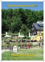 Quartierverzeichnis 2011 - Sächsische Schweiz und ...