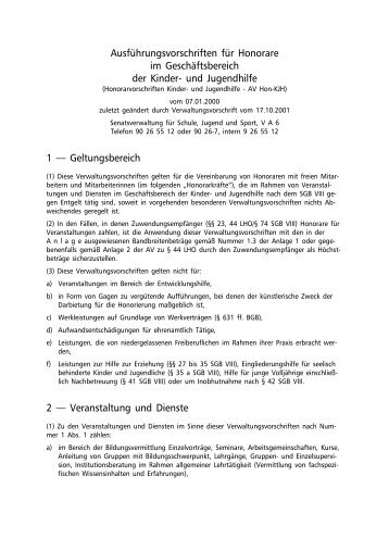 AV Hon-KJH - Jugend- und Familienstiftung des Landes Berlin