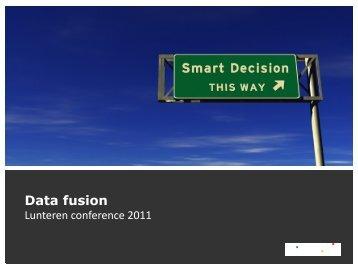 Data fusion - LNMB