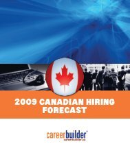 2009CanadIan HIrIng ForeCast - Icbdr