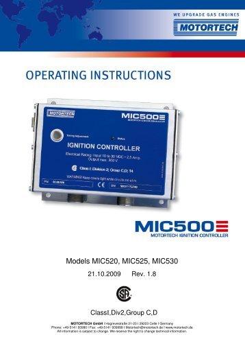 MIC520_525_530_ Series_E-Rev1.8 - Motortech GmbH