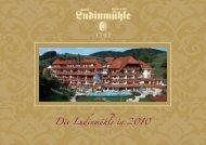 Die Ludinmühle in 2010 - Hotel Ludinmühle Freiamt