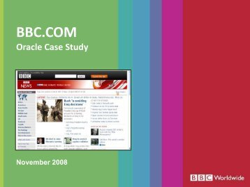 Download the case study: BBC.com - Oracle - Digital Training ...