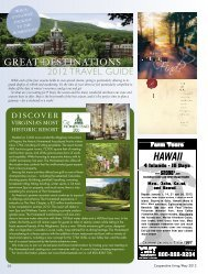 Cooperative Living Great Destinations: 2012 Travel Guide