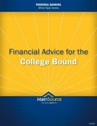 College Bound - MainSource Bank