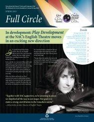 Full Circle, Spring 2013 - National Arts Centre