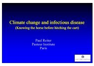 Climate change and infectious disease - GLOBE Network