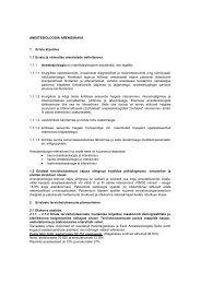 ANESTESIOLOOGIA ARENGUKAVA 1. Eriala kirjeldus 1.1 Eriala ja ...
