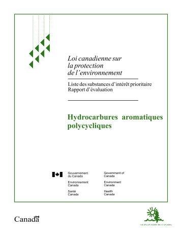 Hydrocarbures aromatiques polycycliques - UQAC