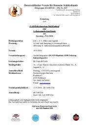 Einladung Reg u Stmk Cup 19 9 2010.pdf (73.09 ... - Agility Steiermark
