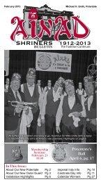 February 2013 - Ainad Shriners