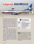 Aeroméxico's eAgle Knight soAring for 75 YeArs - Ken Donohue - Page 6