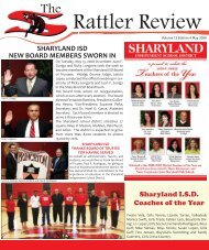 The Rattler Review - May 2008 - Sharyland ISD