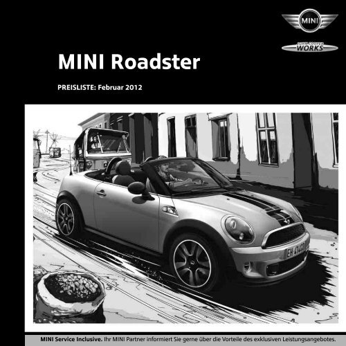 Ammcobus Mini Clubman Preisliste 2012