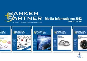 Media-Informationen 2012 - Banken+Partner