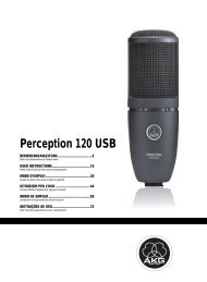 Perception 120 USB - American Musical Supply