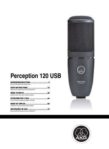 Perception 120 USB - American Musical Supply