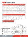 Signa Electronic Sign Ballasts PDF - Universal Lighting Technologies - Page 2