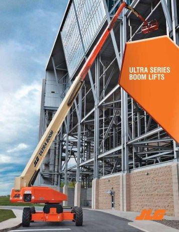 JLG Ultra Series boom lifts - Hertz Equipment Rental
