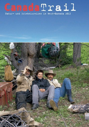 Prospekt 2013 - Canada Trail