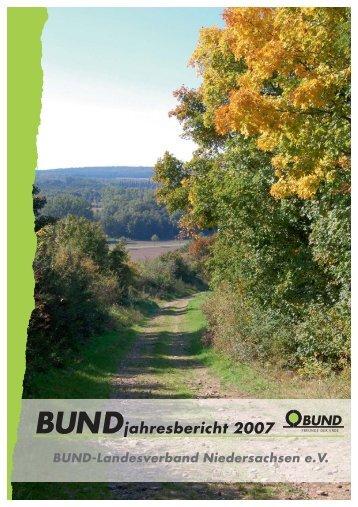 Jahresbericht 2007 des Landesverbandes - BUND Kreisgruppe ...
