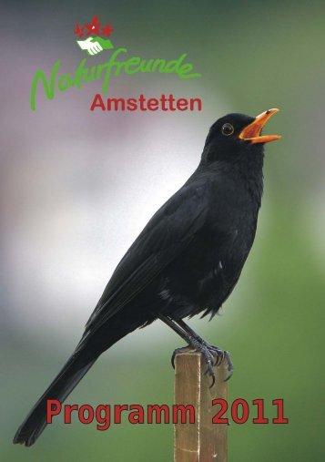 Programm 2011 - Naturfreunde Amstetten